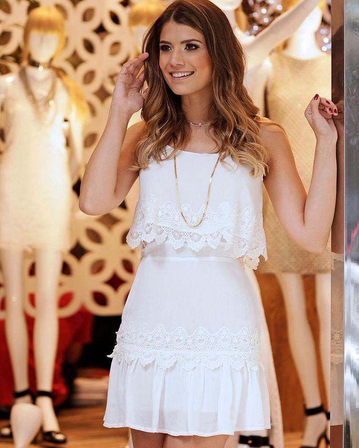 Adorable vestido blanco