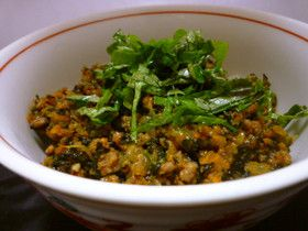Ground meat & Veggies Rice 肉野菜のそぼろ丼♪忙しい時も栄養たっぷり
