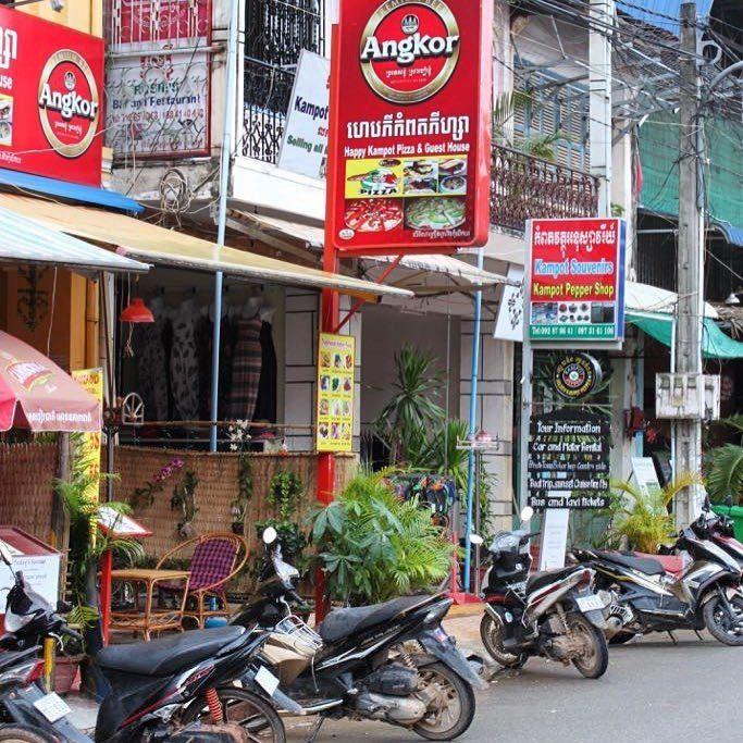 "Gefällt 59 Mal, 6 Kommentare - @reisefieber_wanderlust auf Instagram: ""streets of #kampot #cambodia 🇰🇭 #streetlife #asianlife #angkor #scootertime"""