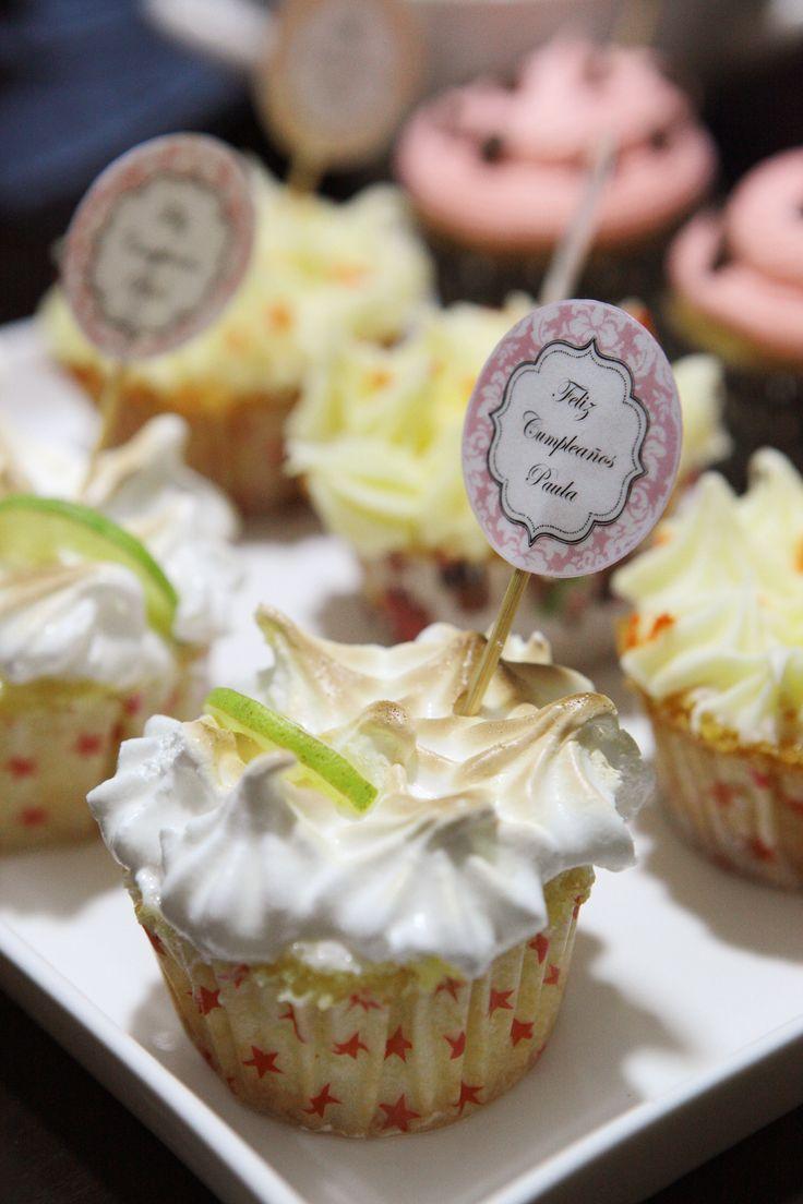 Cupcake de pie de limón...simplemente irresistible!