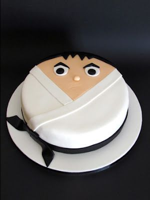 Karate cake (you have to scroll down a bit on the blog to get to this one)