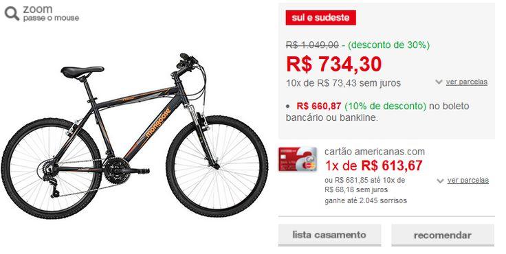 Bicicleta Mongoose Xtreme Sport Aro 26 21 Marchas - Preto Fosco << R$ 59478 >>