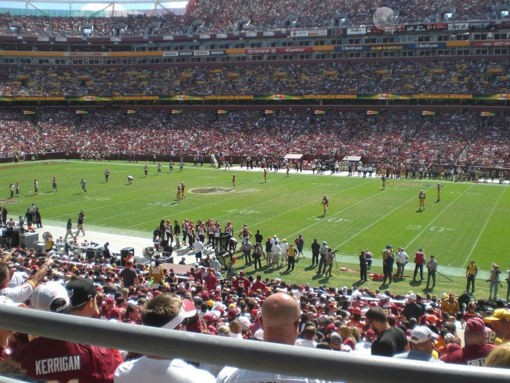 Washington Redskins: Futebol Americano no Fedex Field