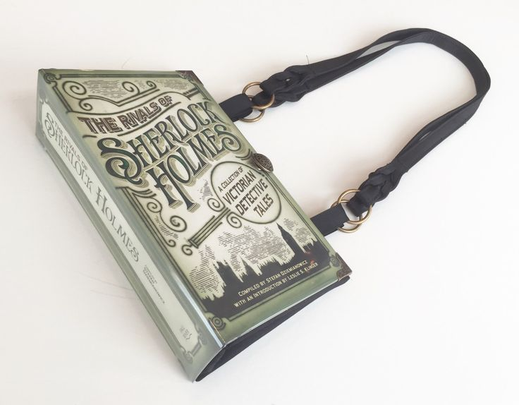 Sherlock Holmes Book Purse - Sherlock Book Cover Handbag - Detective Book Clutch - Steampunk Handbag by NovelCreations on Etsy https://www.etsy.com/listing/238840945/sherlock-holmes-book-purse-sherlock-book
