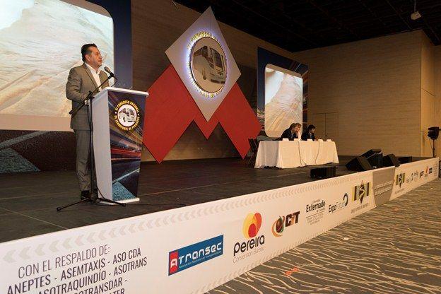 Por primera vez el Consejo Superior de Transporte repite el Congreso Nacional de Transporte de Pasajeros en una misma ciudad. Lo hizo este año en Pereira