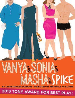 Poster art for Vanya and Sonia and Masha and Spike
