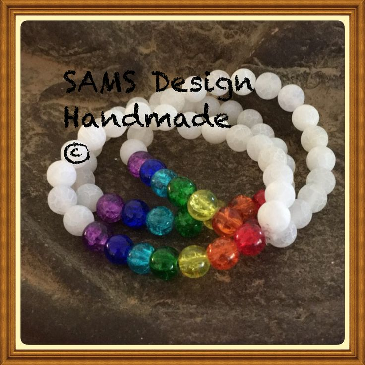 Chakra armband Chakra bracelets  SAMS Design Handmade