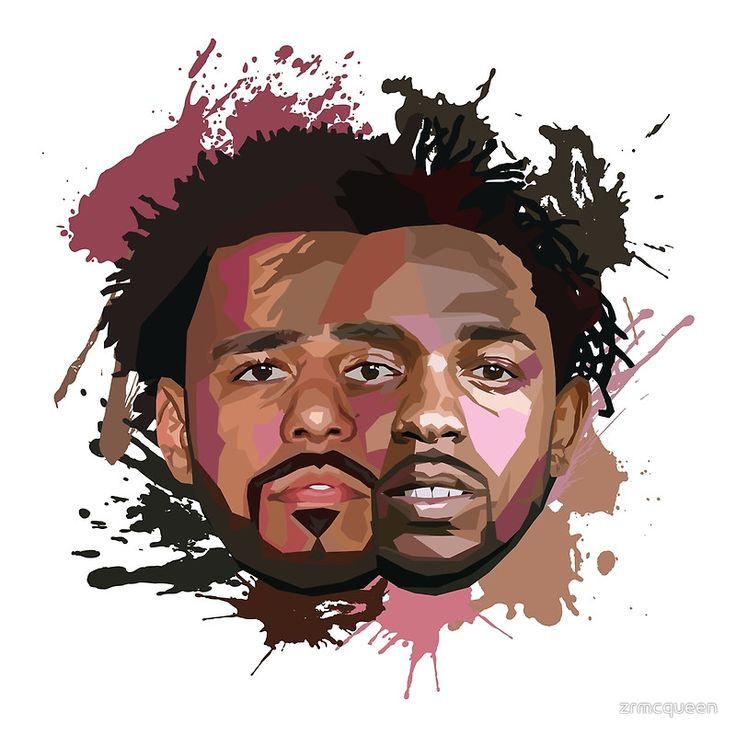 Quot Kendrick Lamar Amp J Cole Quot Posters By Zrmcqueen Redbubble