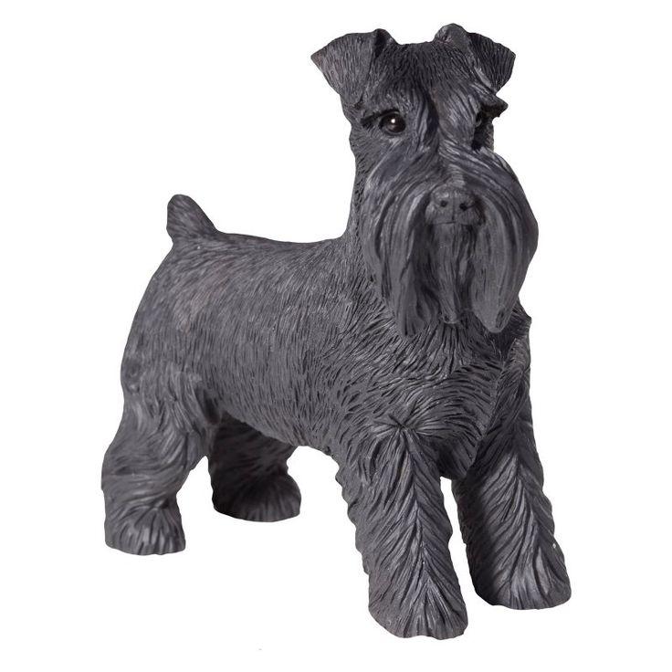 Sandicast Small Size Black Schnauzer Sculpture - SS14105