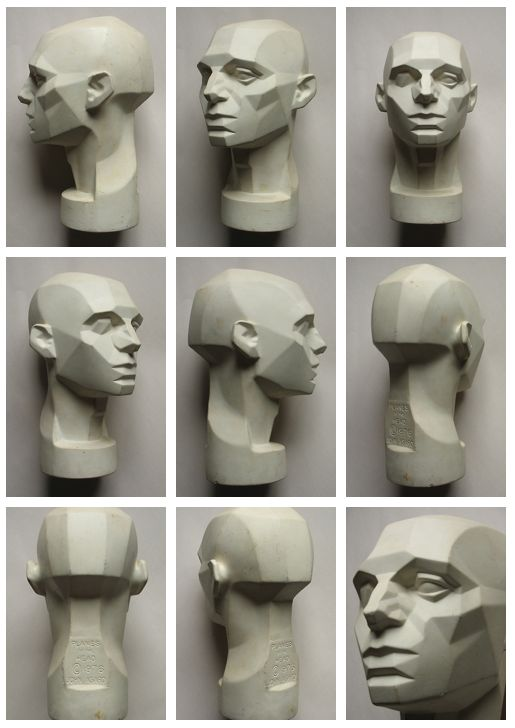Planes of the Head by John Asaro.