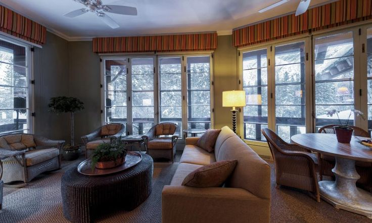 Parlor Room to the Sunroom Suite at The Ahwahnee in ...