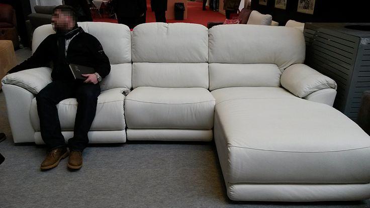 17 mejores ideas sobre sof s de cuero blanco en pinterest - Sofa cuero blanco ...