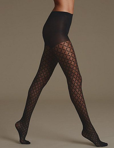 Geometric Bodyshaper Tights | M&S