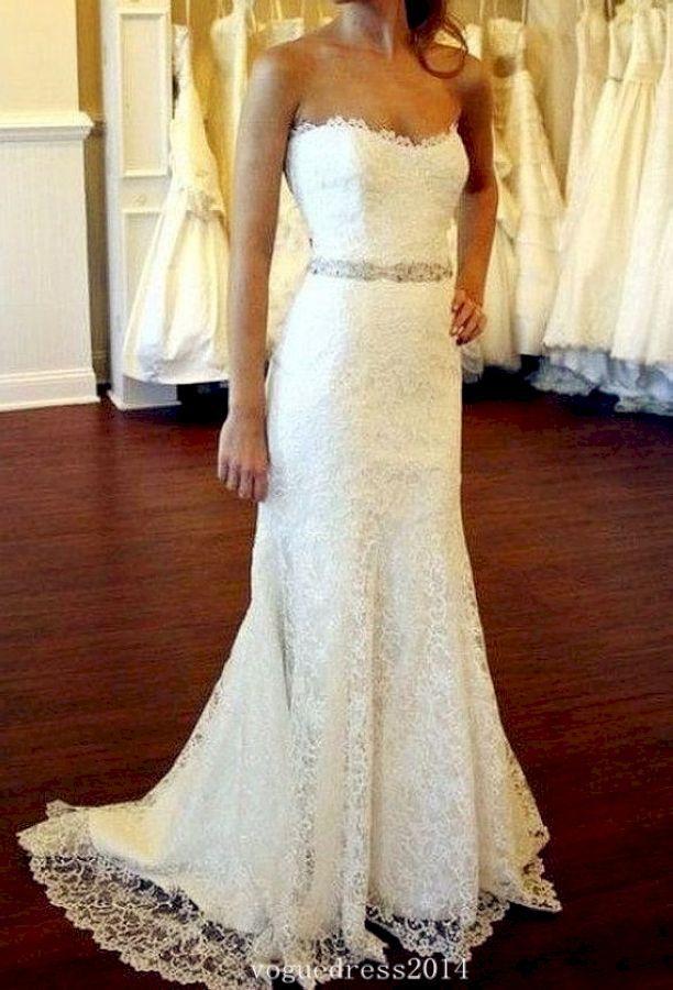 50 Gorgeous Vow Renewal Dress Country Wedding Ideas