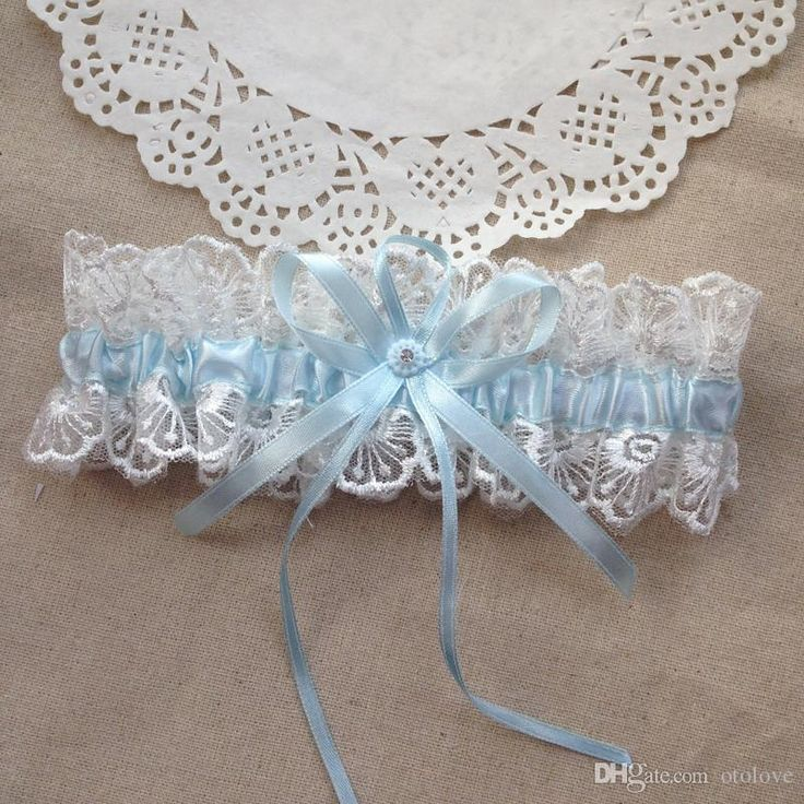 Baby Blue Bridal Garter Vintage Lace Wedding Garters Party Gift Bachelorette For Women 2016