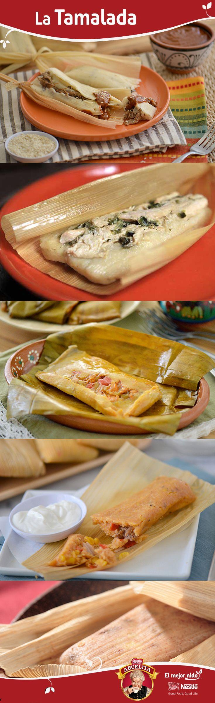 Prepara el sabor de tu cultura siguiendo esta guía de recetas de tamales de Puerto Rico, Cuba, México, Bolivia, etc. ¡Este plato tradicional no puede faltar en tu Nochebuena!
