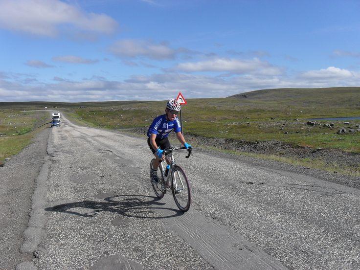 Ride hard. (Photo by Kalevi Mikkonen)