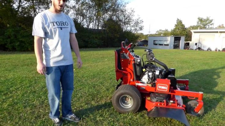 Pin by Jacob Thompson Arnone on Toro stand on mowers