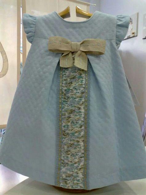 Vestido azul bebe mignon