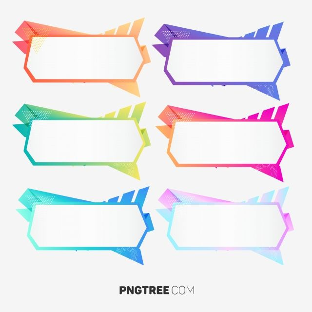 Abstract Gradient Label Infographic Element Infographic
