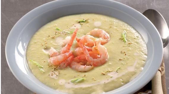 Картофельный крем-суп с креветками и мясом криля. Пошаговый рецепт с фото, удобный поиск рецептов на Gastronom.ru