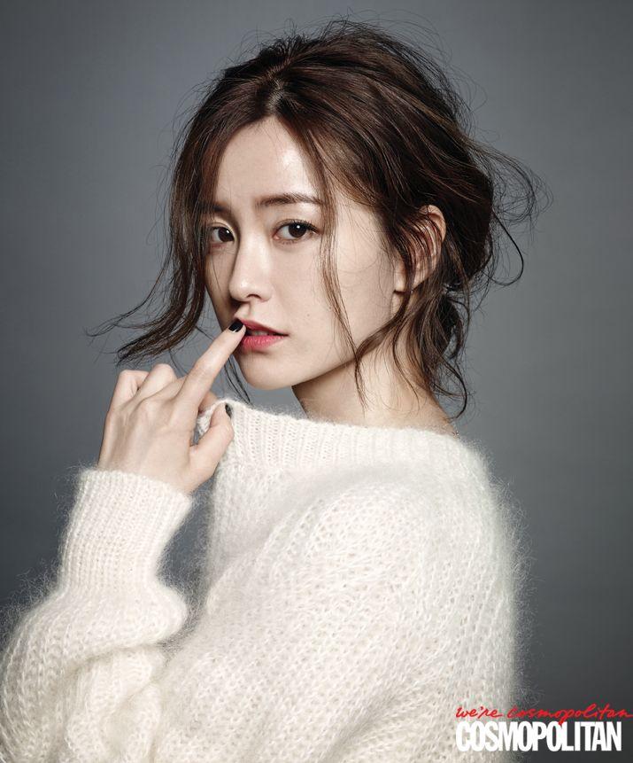 Jung Yumi Cosmopolitan Korea Magazine August 2014