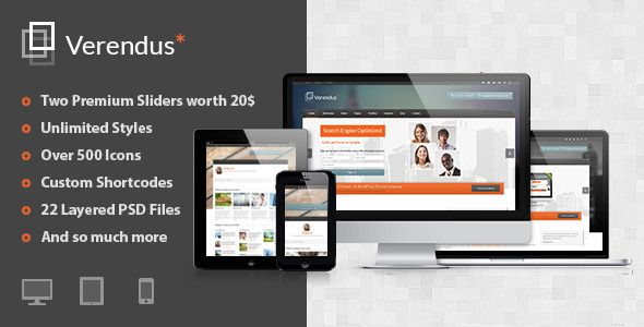 Verendus - Responsive Business Template
