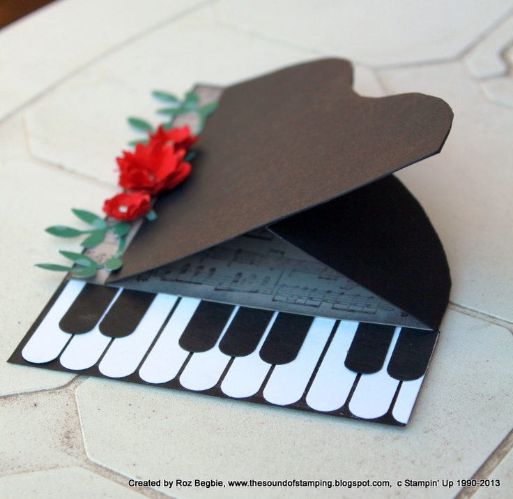 17 Best Images About Music Themed Cards On Pinterest