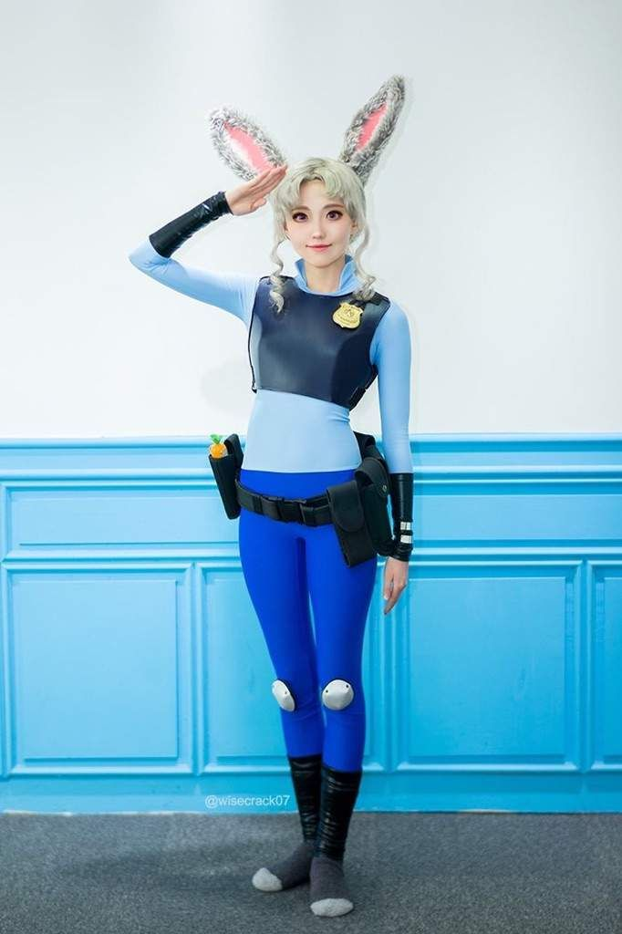 My Judy hopps cosplay from Zootopia (Repost) · Disney Cosplay CostumesDisney