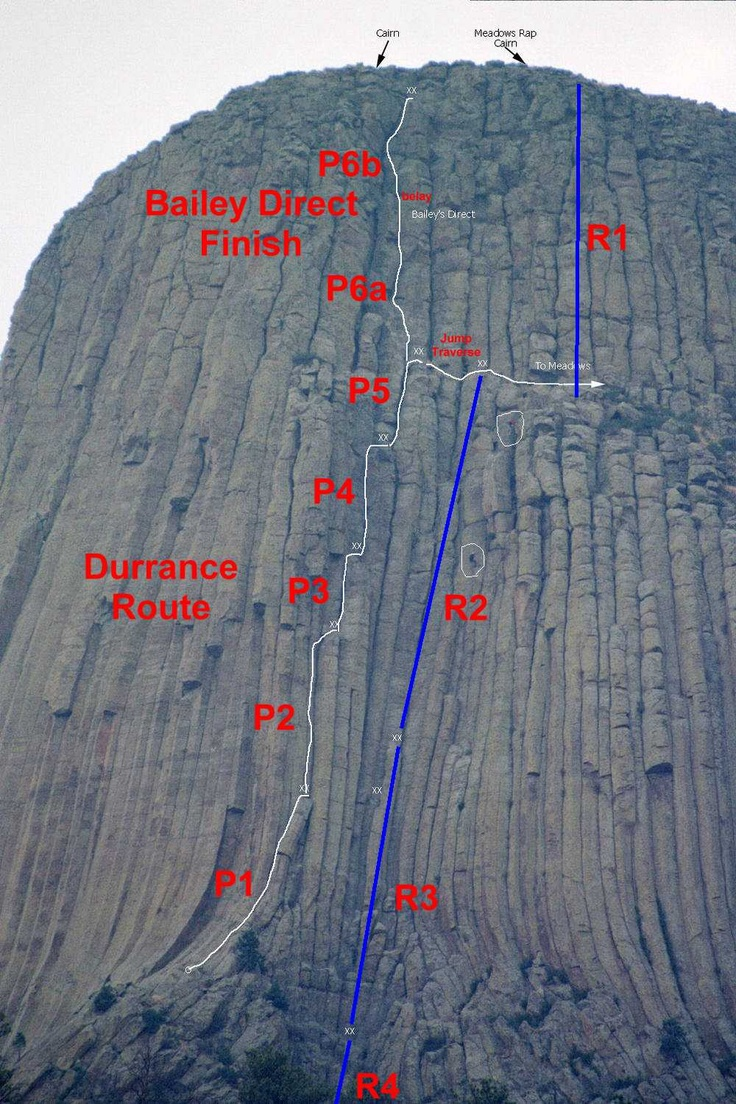 Devils Tower Wy >> This climb, Devils Tower ... leaving tomorrow | Climbing | Pinterest | Devil and Towers