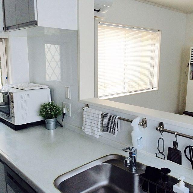 ふきんはいつでも清潔が鉄則 ふきんの置き場所10選 インテリア 収納 リビング キッチン 家のインテリア