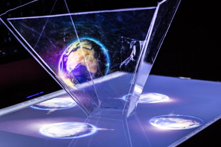 Как сделать 3D голограмму в домашних условиях   How to make a 3D hologra...