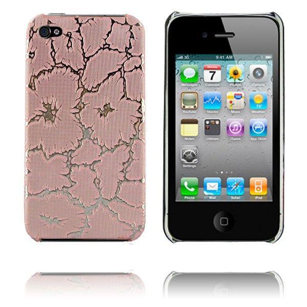 Spider (Pink/ Sølv) iPhone 4 Cover