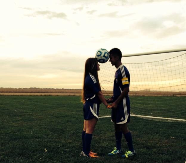 Soccer couple/cute soccer pictures/soccer/ @crs Willimon