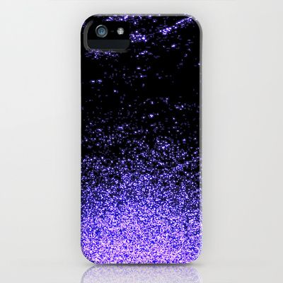 infinity in purple iPhone Case by Marianna Tankelevich - $35.00