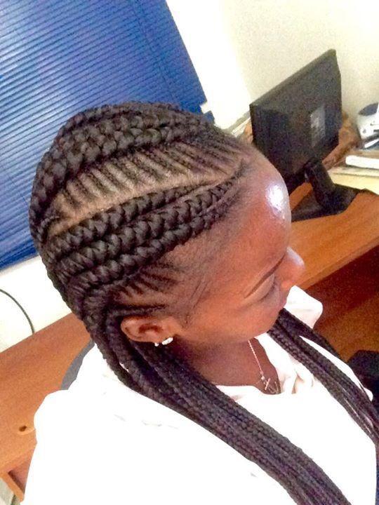 40 Hip and Beautiful Ghana Braids Styles   Banana Braids - Part 6