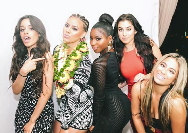 """Fifth Harmony at Dinah's 18th birthday celebration the other day"
