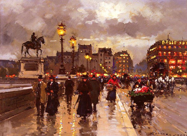 Super Les 361 meilleures images du tableau Peintures Edouard Leon Cortes  FM07