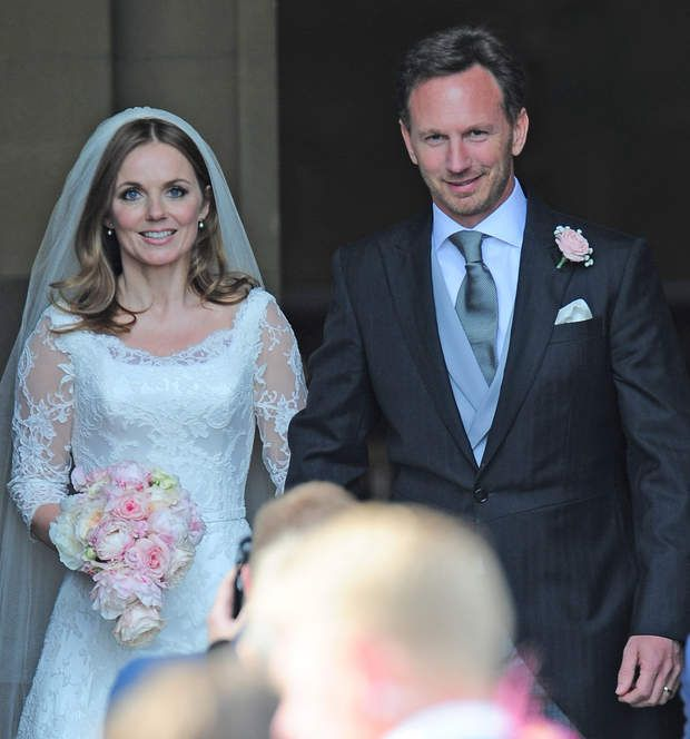 Geri Halliwell A Enfin Epouse Son Compagnon Christian Horner Au Moi De MaiSpice Girl And Her New Husband Formula 1 Boss Ho