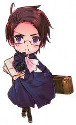 Austria from Hetalia.  This is the character my friends say I am like.  I have to agree.  Music loving and rather indignant.