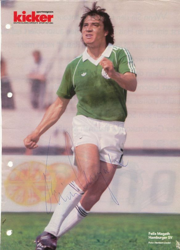 Felix Magath of West Germany in 1981.