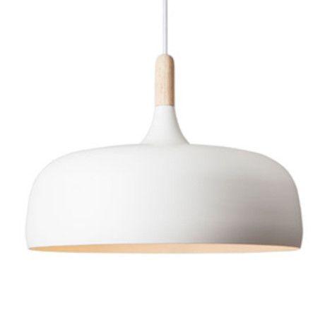 Acorn Pendant Light - Off White - Trouva