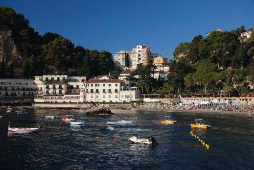 Taormina - Mazzarò cove