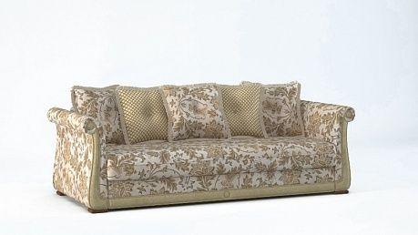 Модель «Жозефина Комфорт, Диван пр.3-м., (сп.цена бежевый)» - итальянская мебель в интернет магазине Home Classic.