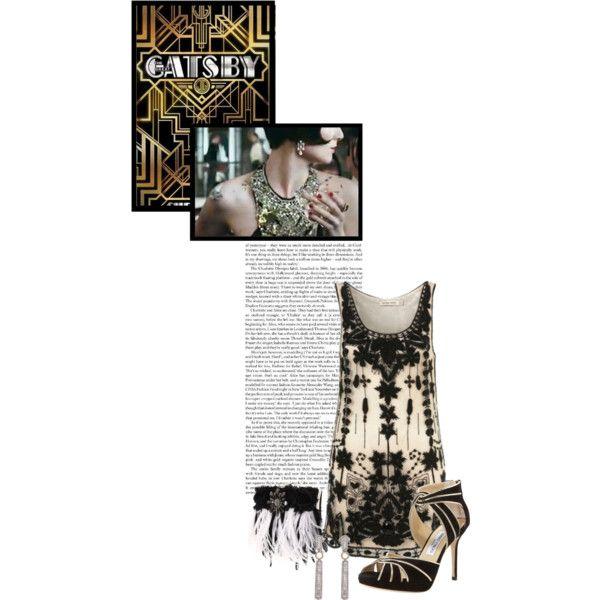 """""""Gatsby"""" by kimberlee-peers-moore on Polyvore"""