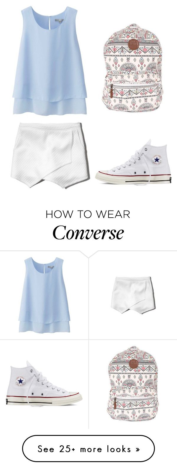"""Summer Rain"" by izzy9282003 on Polyvore featuring Uniqlo, Abercrombie & Fitch, Billabong, Converse, women's clothing, women's fashion, women, female, woman and misses"