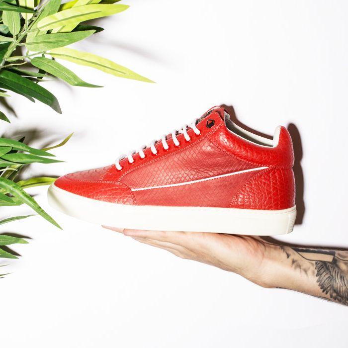 Mason Garments | Tia Mid Marble Red
