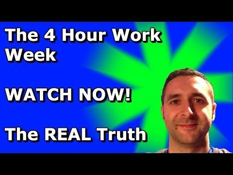 The 4 Hour Work Week controversial new video #4_hour_body #the_four_hour_work_week #4_hour_work_week #the_4_hour_work_week #four_hour_work_week #4_hour_chef. #timothy_ferriss #tim_ferriss