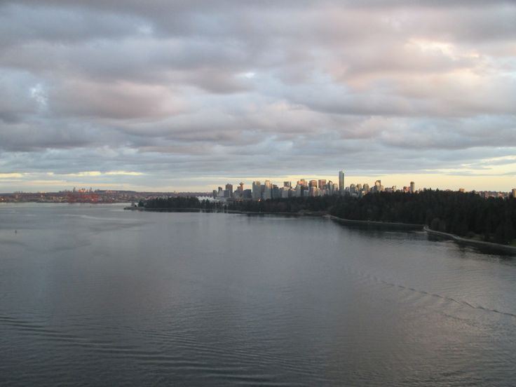 Downtown Vancouver, Lions Gate, BC, March