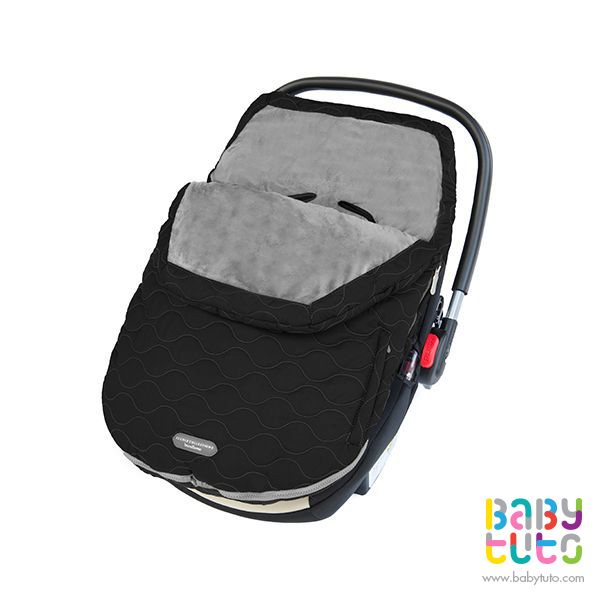 Cobertor para coche Urban Bundleme Infant negro, $38.990 (precio normal). Marca JJ Cole: bbt.to/1uBabN0
